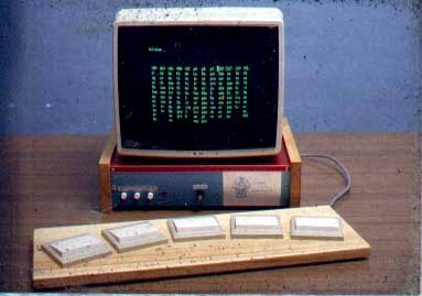 The La Trobe Talking Communicator with monitor and 5-keyboard