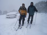 mid-summer skiing on Mt Baw Baw